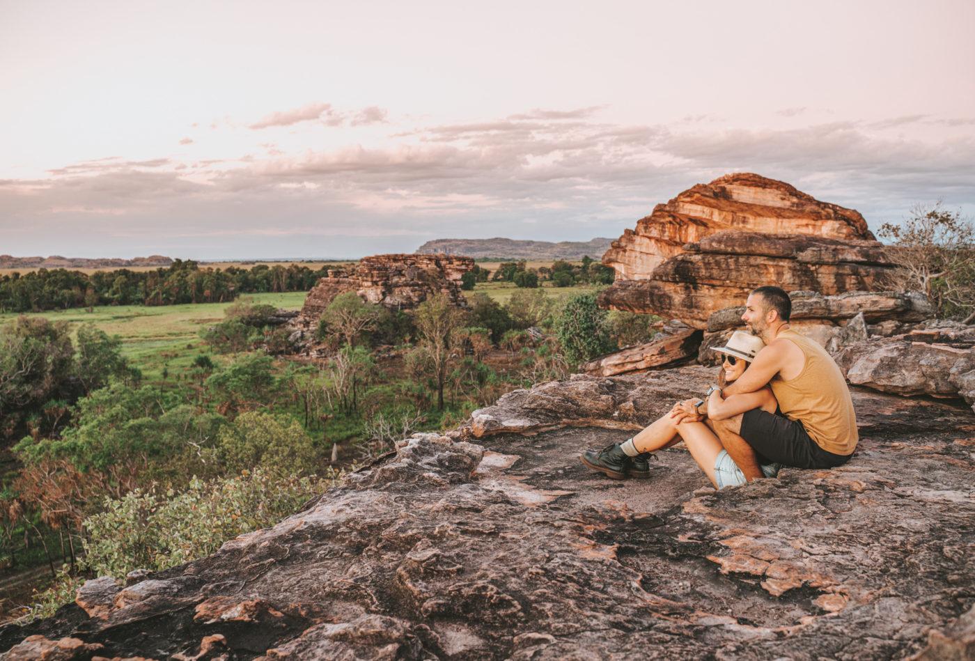 Sunset at Ubirr, Kakadu National Park