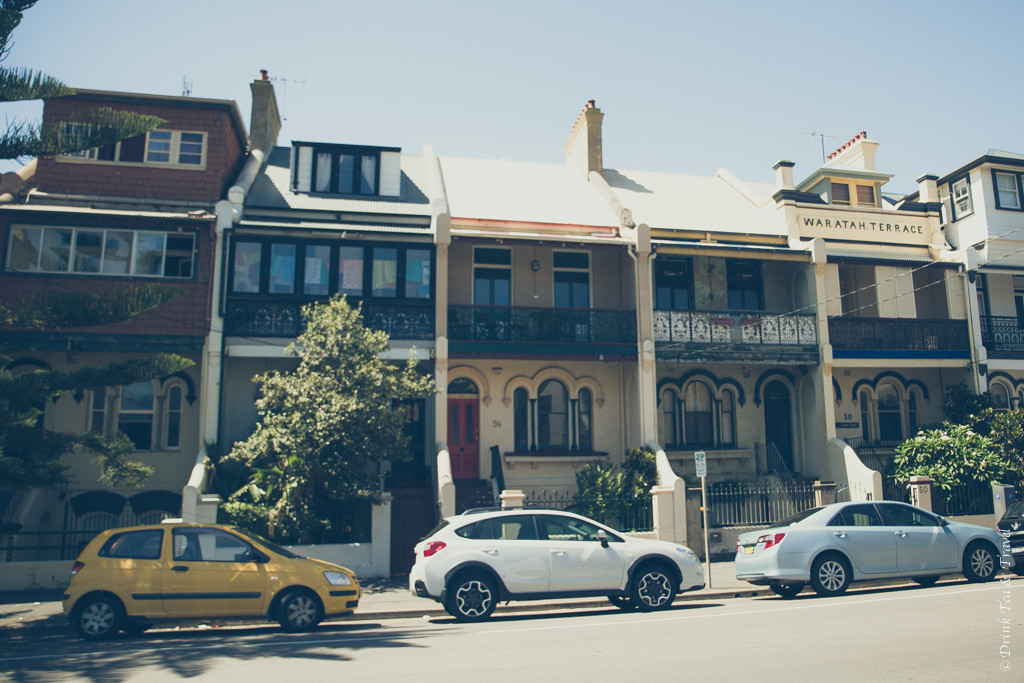 Things to do in Newcastle NSW: Cute houses in Newcastle. Australia
