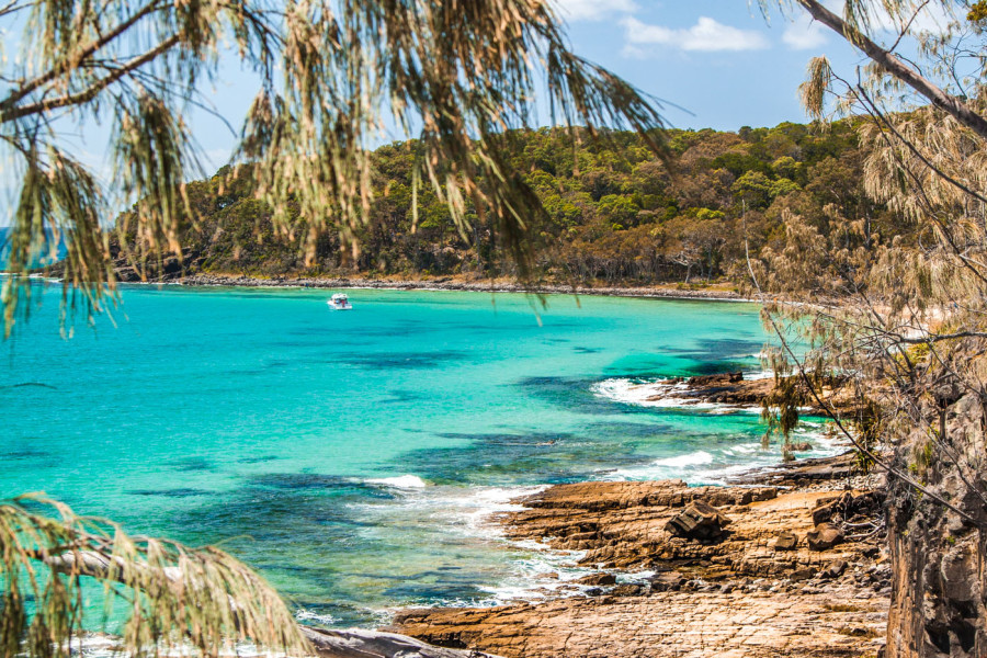 Exploring Noosa National Park in Sunshine Coast, Queensland, Australia