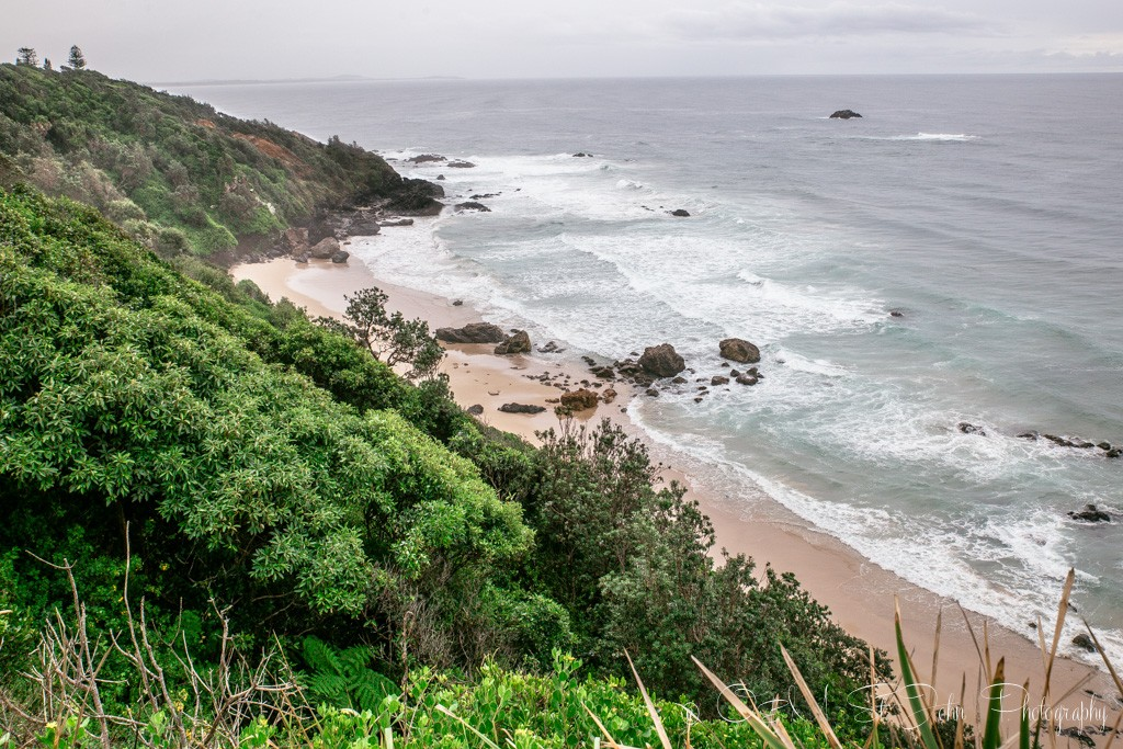 Sydney to Brisbane itinerary: One of the beautiful beaches in Port Macquarie, NSW