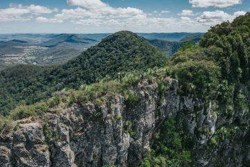 Hiking the Scenic Rim Trail in Queensland, Australia