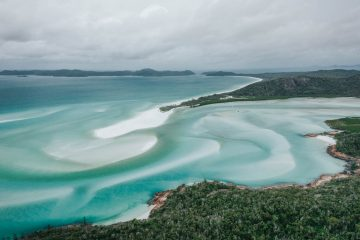 Exploring Whitehaven Beach on a Cruise Whitsundays Tour from Airlie Beach