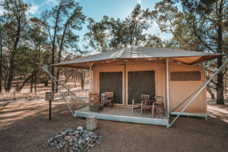 Staying at Wilpena Pound Resort in the Flinders Ranges, South Australia