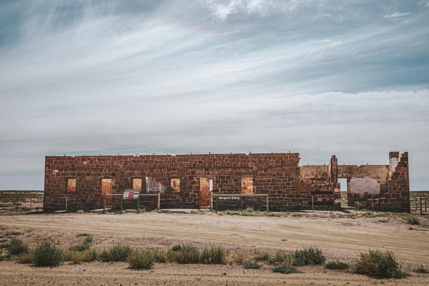 Margaret Siding Ruins, Oodnadatta Track