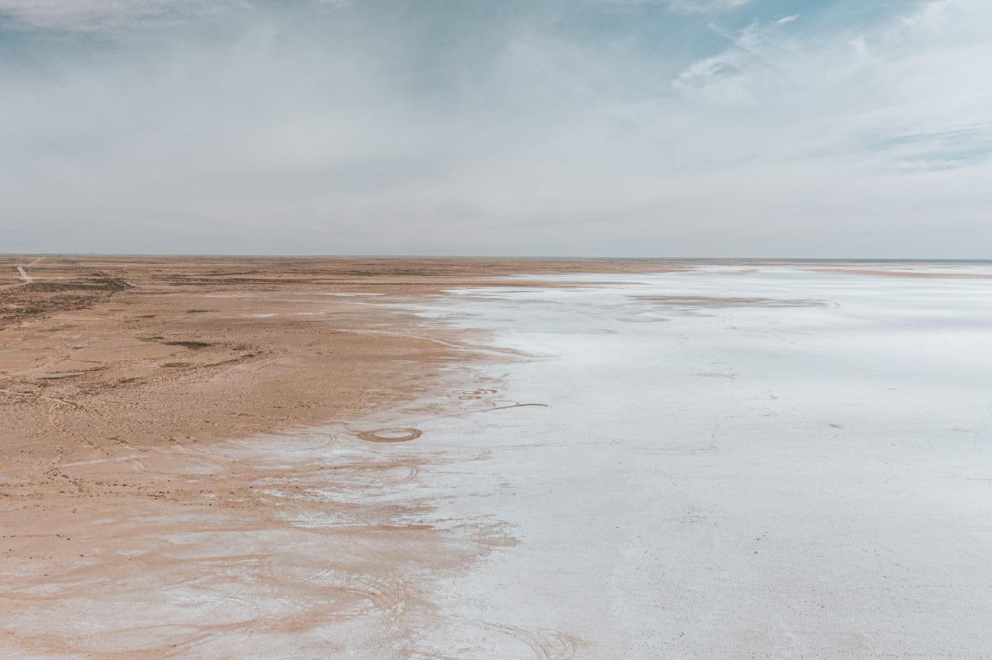 Lake Eyre, Oodnadatta Track