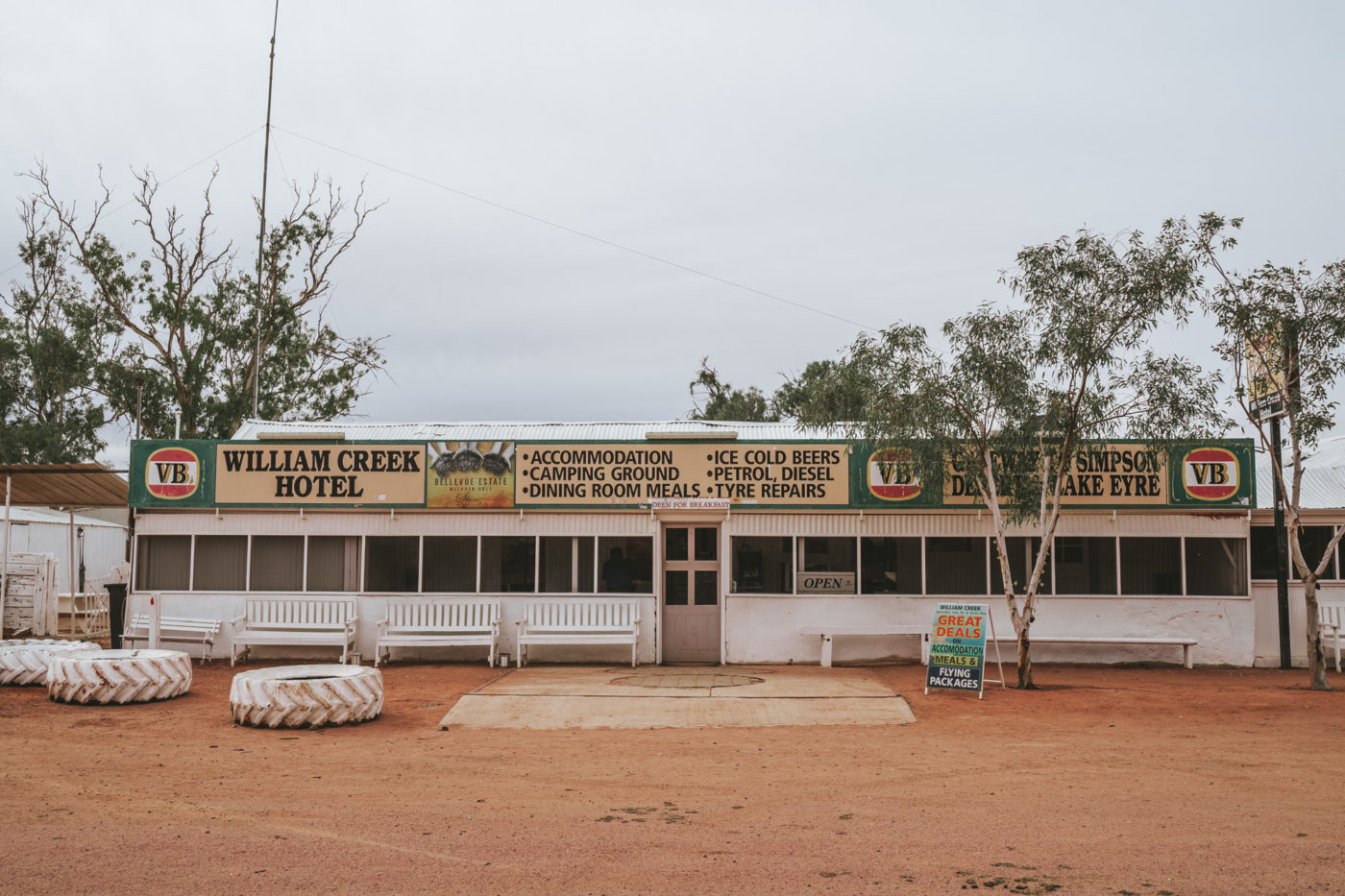 william creek hotel, oodnadatta track
