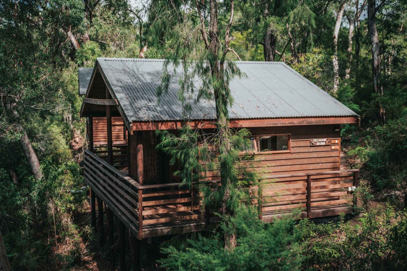 Treehouse Ensuite at the Billabong Retreat