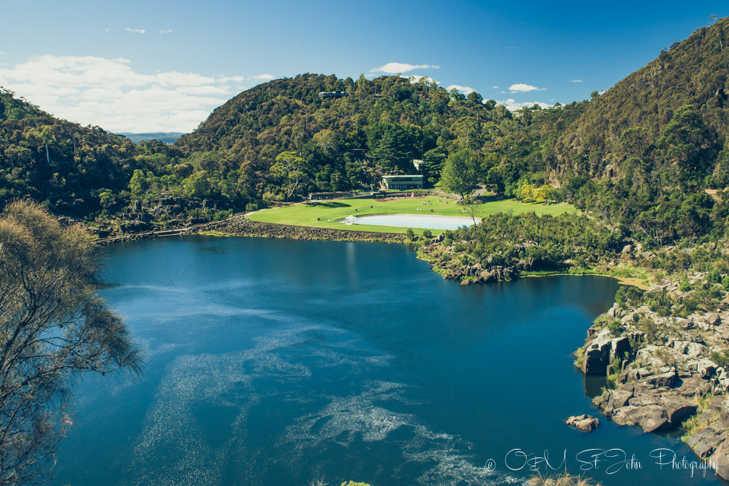 best places to visit in tasmania: The magnificent Cataract Gorge in Launceston, Tasmania