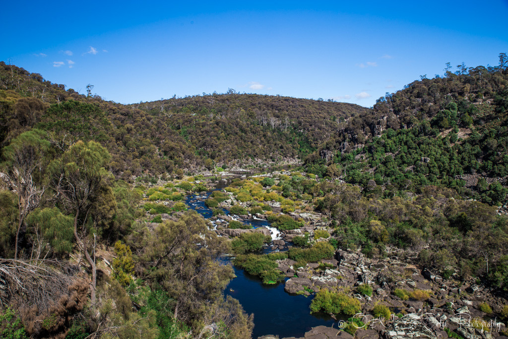best places to visit in tasmania: Along the South Esk River. Cataract Gorge. Launceston, Tasmania. Australia