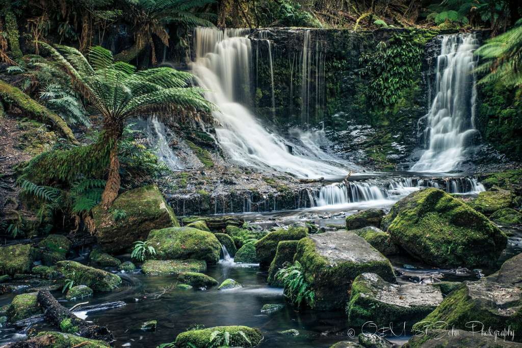 Horseshoe Falls, Mt Fields National Park, Tasmania.