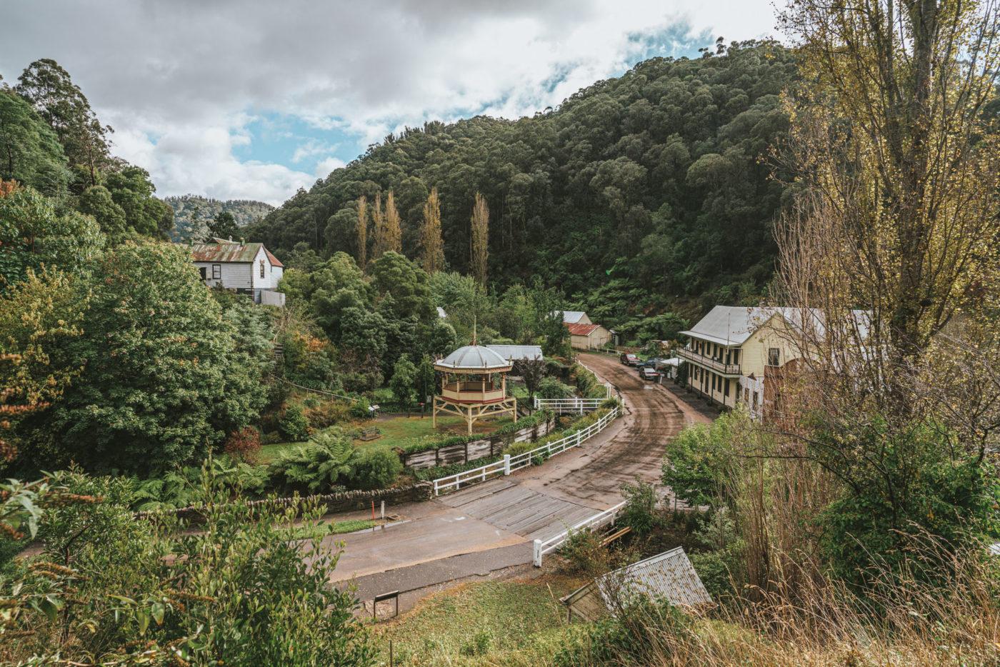 Walhalla, Victoria, Sydney to Melbourne drive