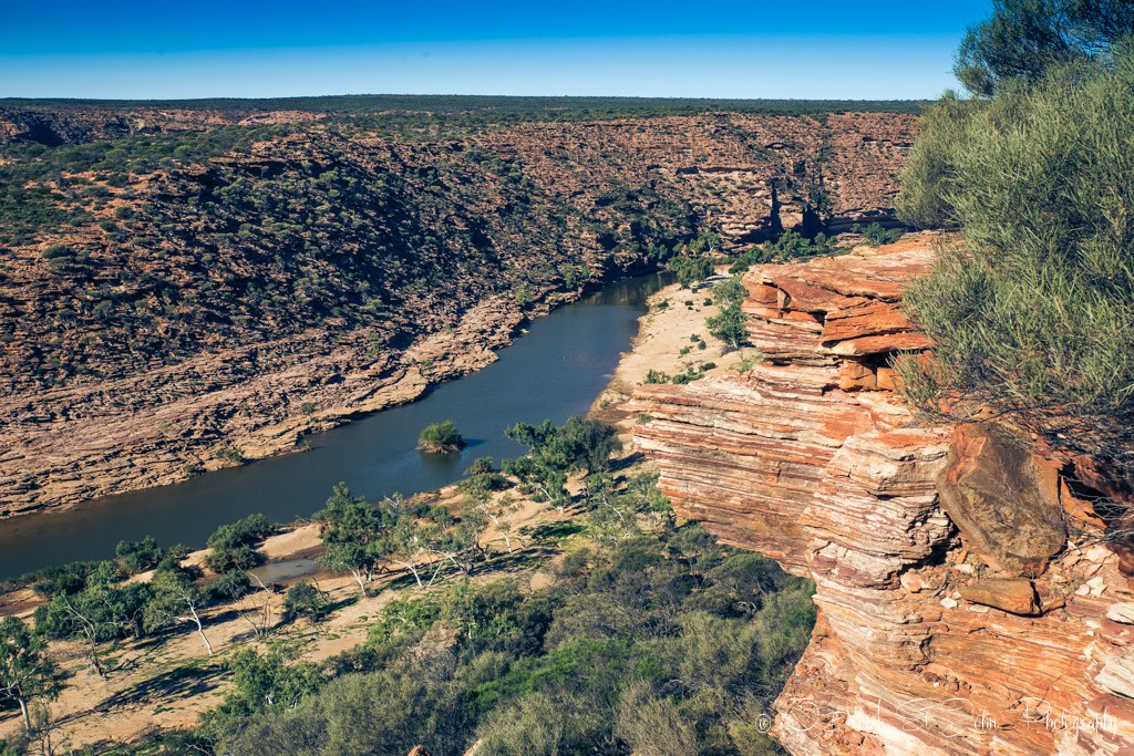 Western Australia itinerary: Murchison River Gorge. Kalbarri National Park.