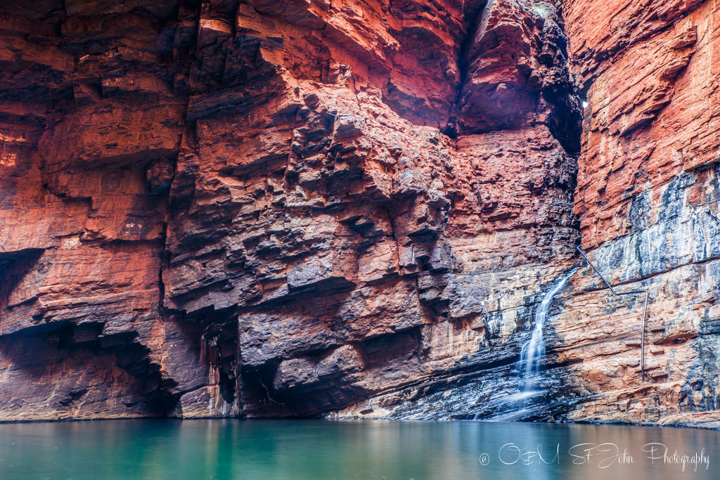 Western Australia itinerary: Handrail Pool in Weano Gorge, Karijini National Park