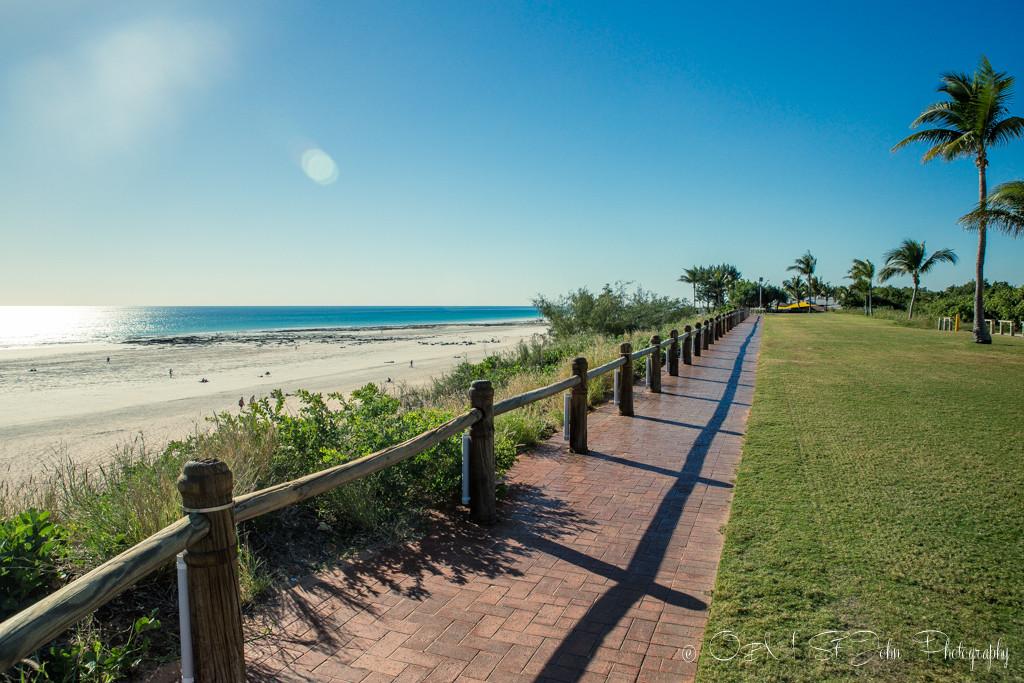 Cable Beach esplanade. Broome. Western Australia