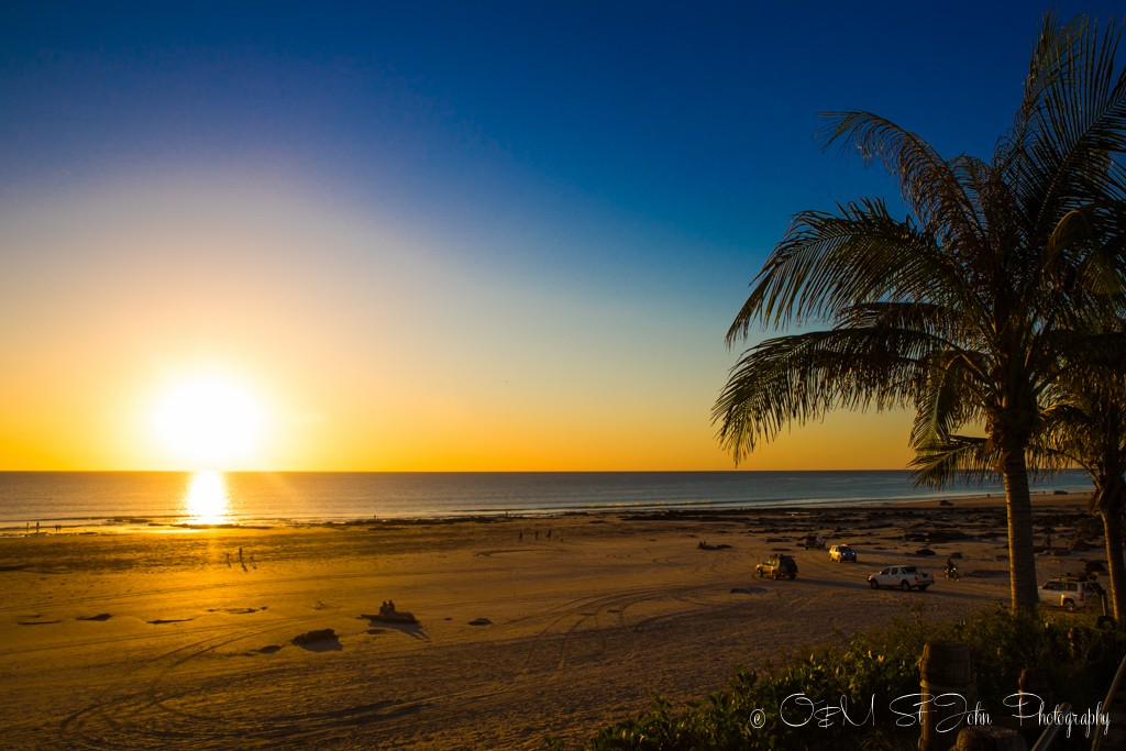 Western Australia itinerary: Sunset over Cable Beach, Broome. Western Australia