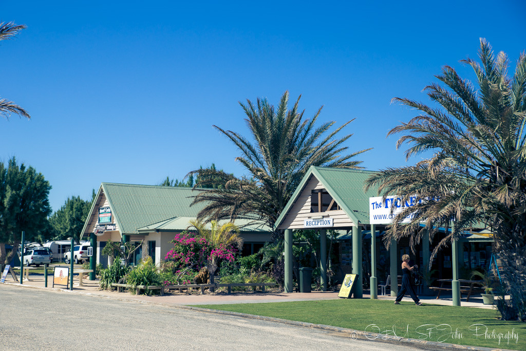 Coral Bay town centre. Coral Coast. Western Australia