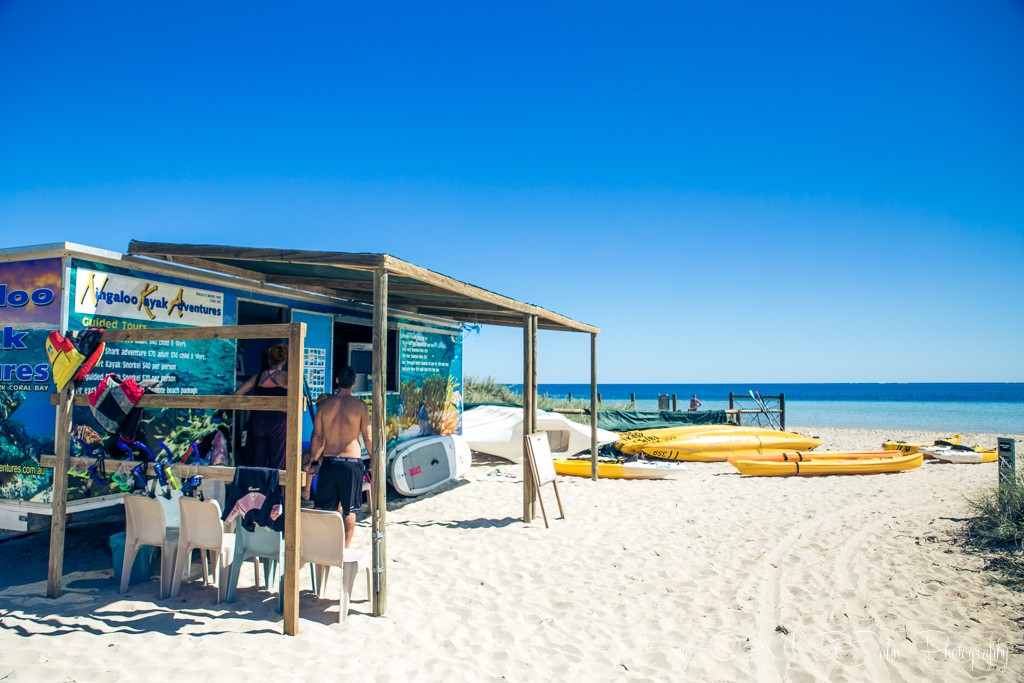 Trip to Australia cost: Equipment hire in Coral Bay. Western Australia
