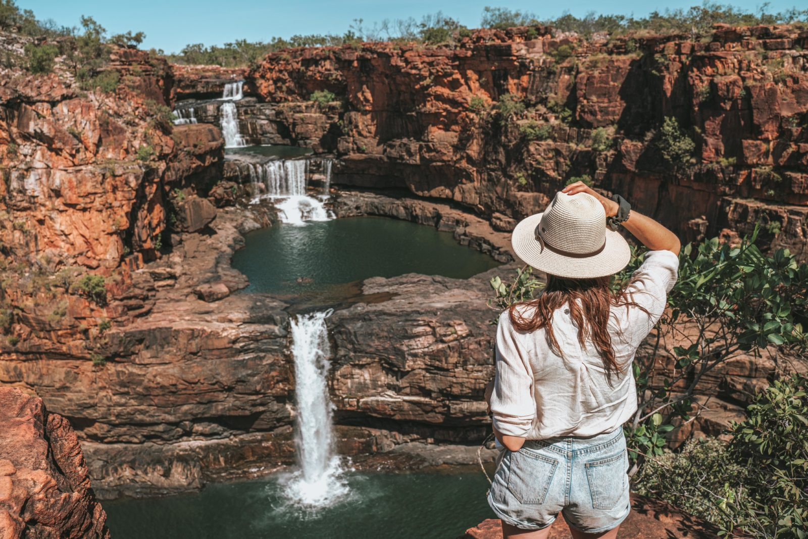 Overlooking Mitchell Falls, Gibb River Road, Kimberley