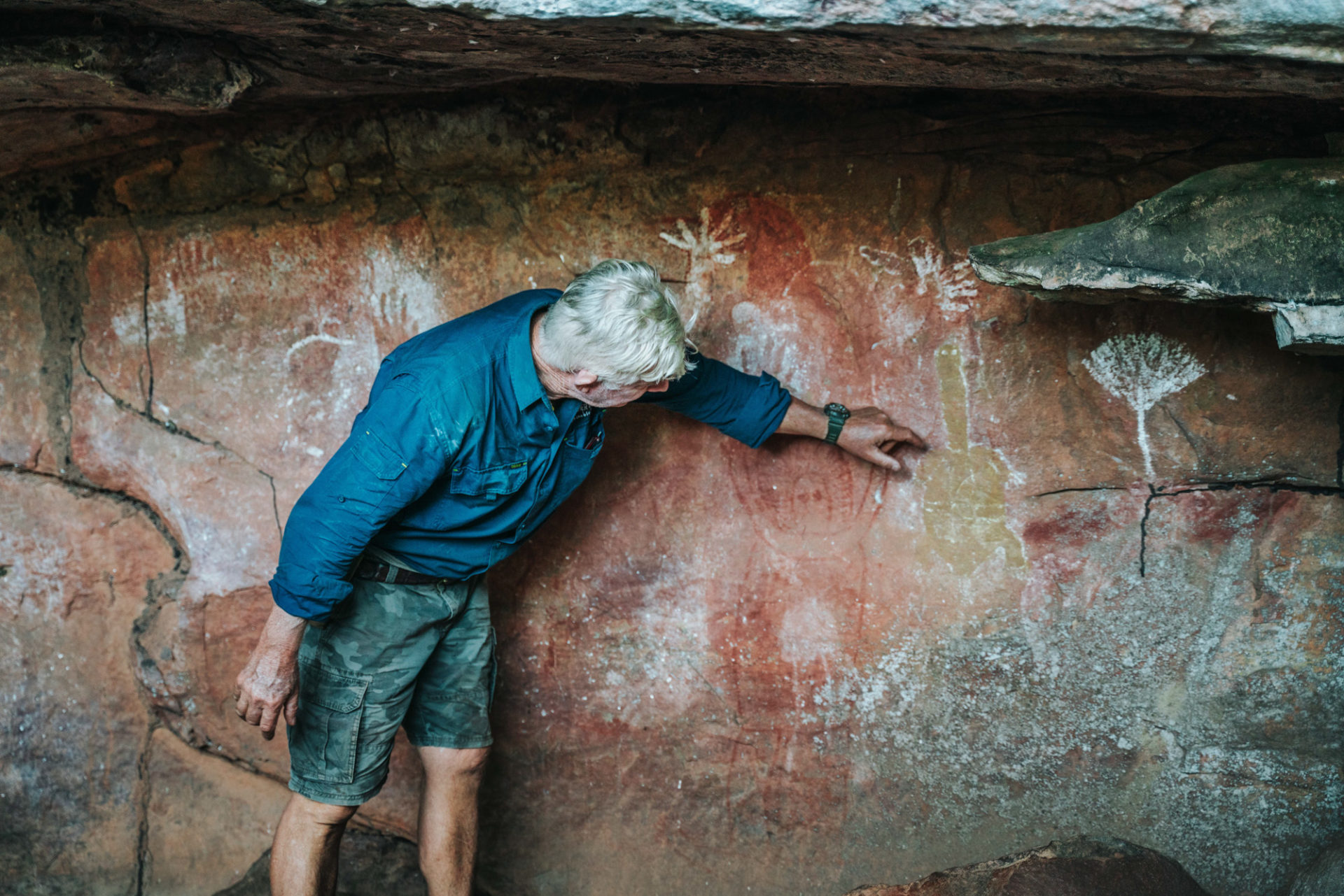 Cave drawings, Mitchell Falls