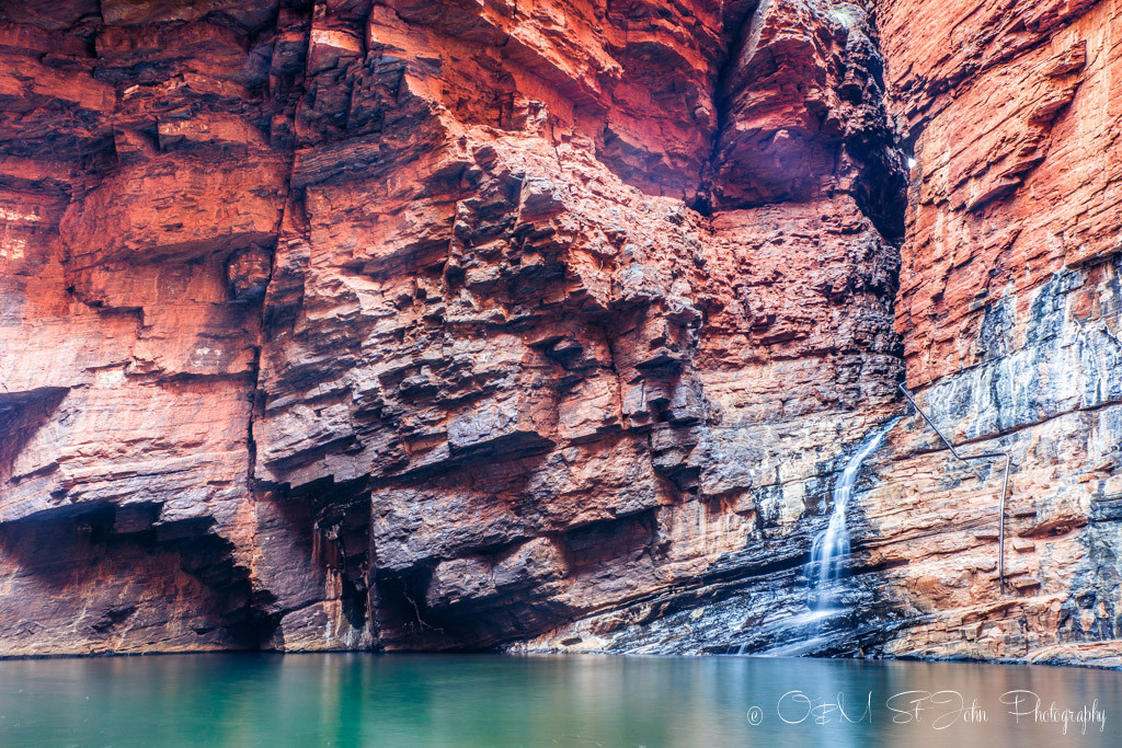 Handrail Pool. Karijini National Park. Western Australia