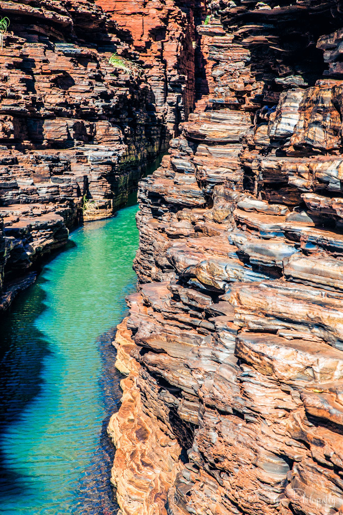 Hancock Gorge. Karijini National Park. Western Australia