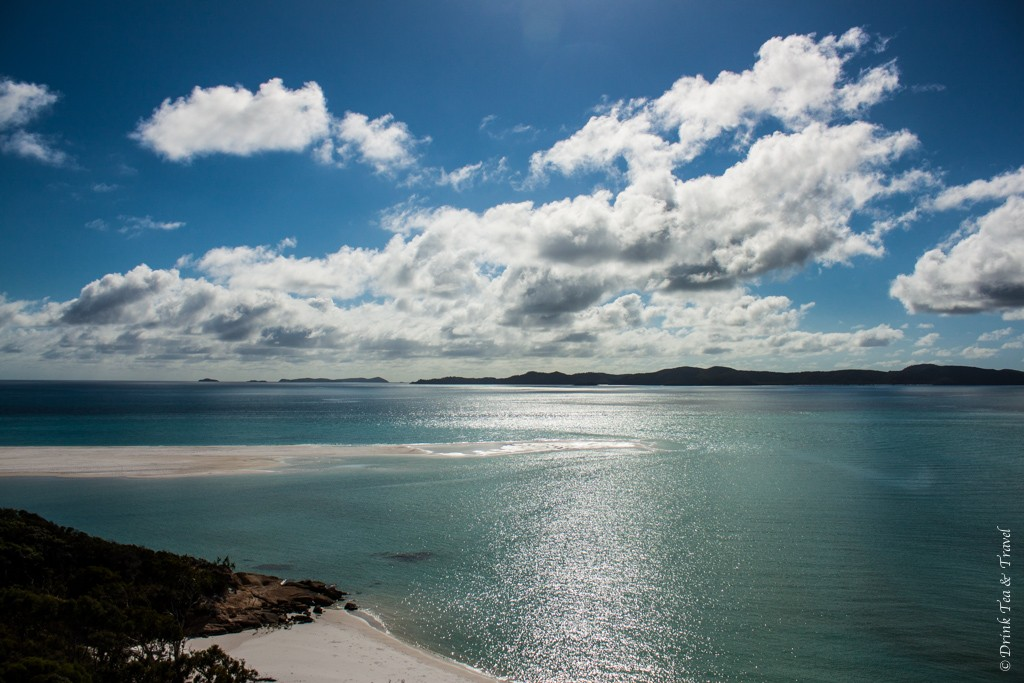 Views of the Whitehaven Beach, Whitsundays, Australia