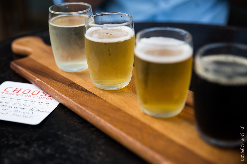 Australia travel tips: Our choice of the tasting paddle