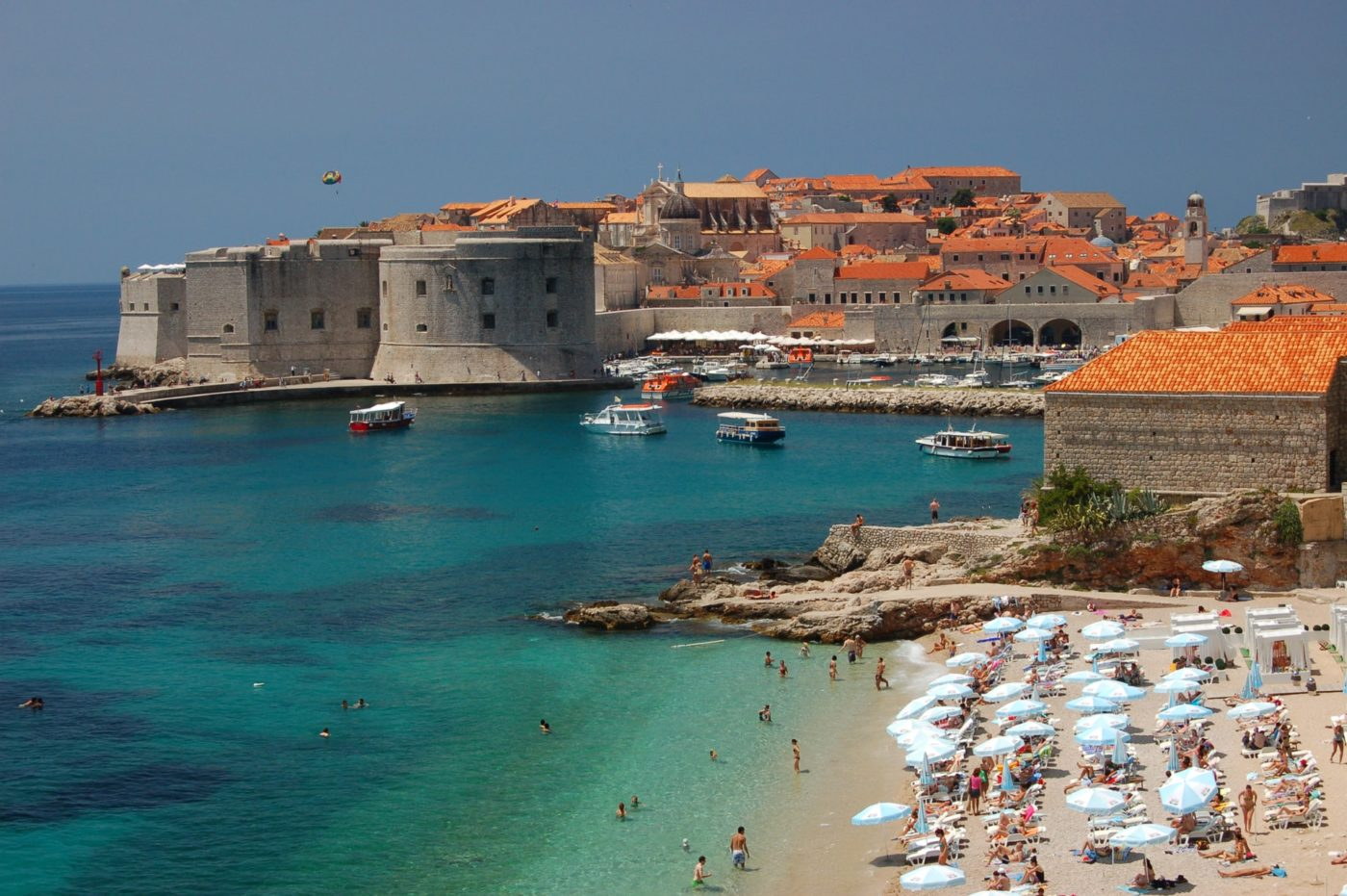 Best Dubrovnik Beaches: Banje Beach