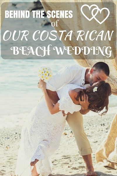 We never wanted a traditional wedding. We didn't want a big banquet hall, a fancy $2,000 dress, or a 3-course meal, so we decided to do it differently and plan a destination wedding in Costa Rica! Check out the behind the scenes of how it all went down!