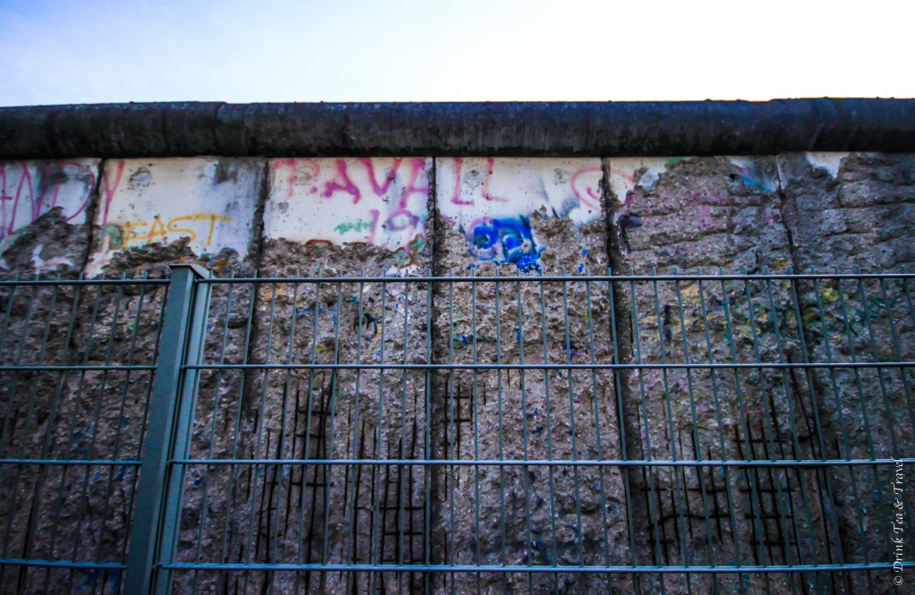 Berlin Wall... or rather, what's left of it