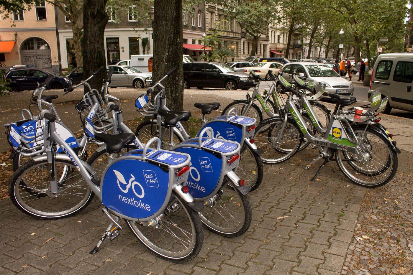 Berlin bike sharing . Berlin, Germany Contributed by Sam from Alternative Travelers