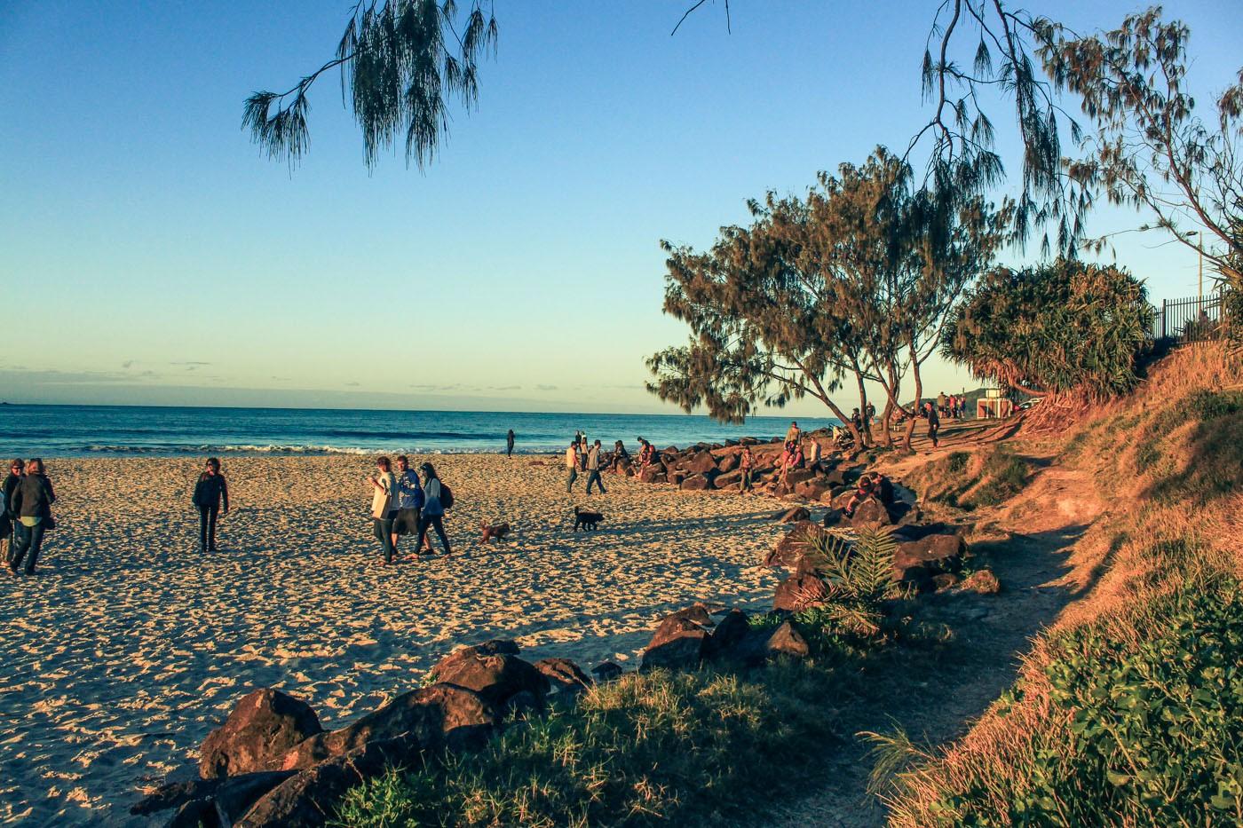 Trip to Australia cost: Another beautiful Australian beach!