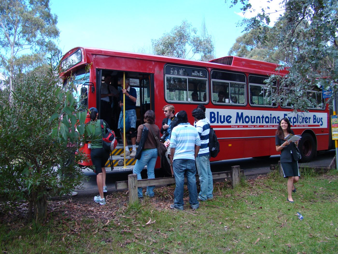 Blue mountains day trip bus