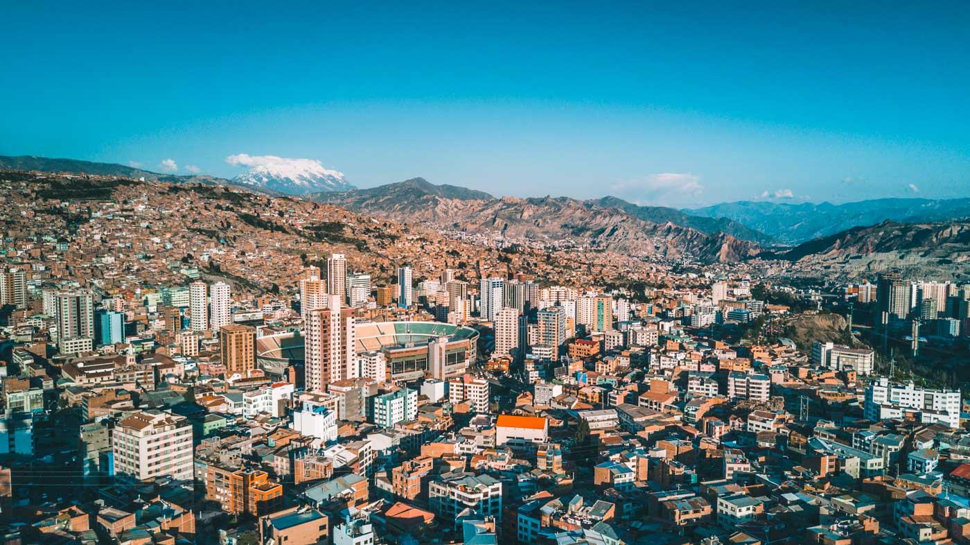 View from Mirador Kili Kili