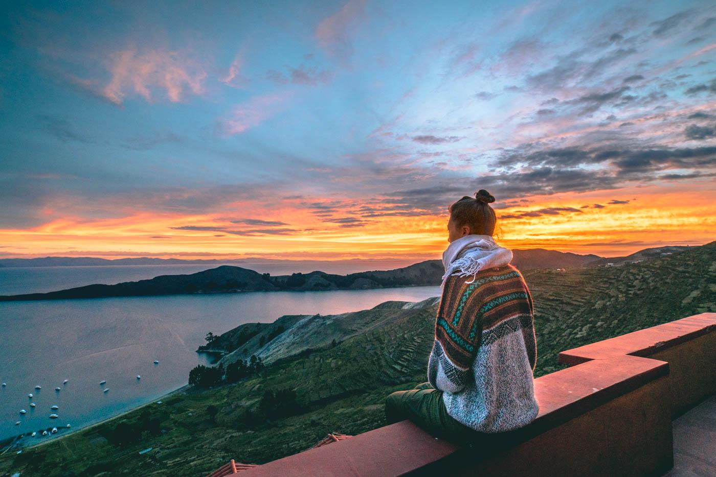 Bolivia Lake Titicaca Isla del Sol