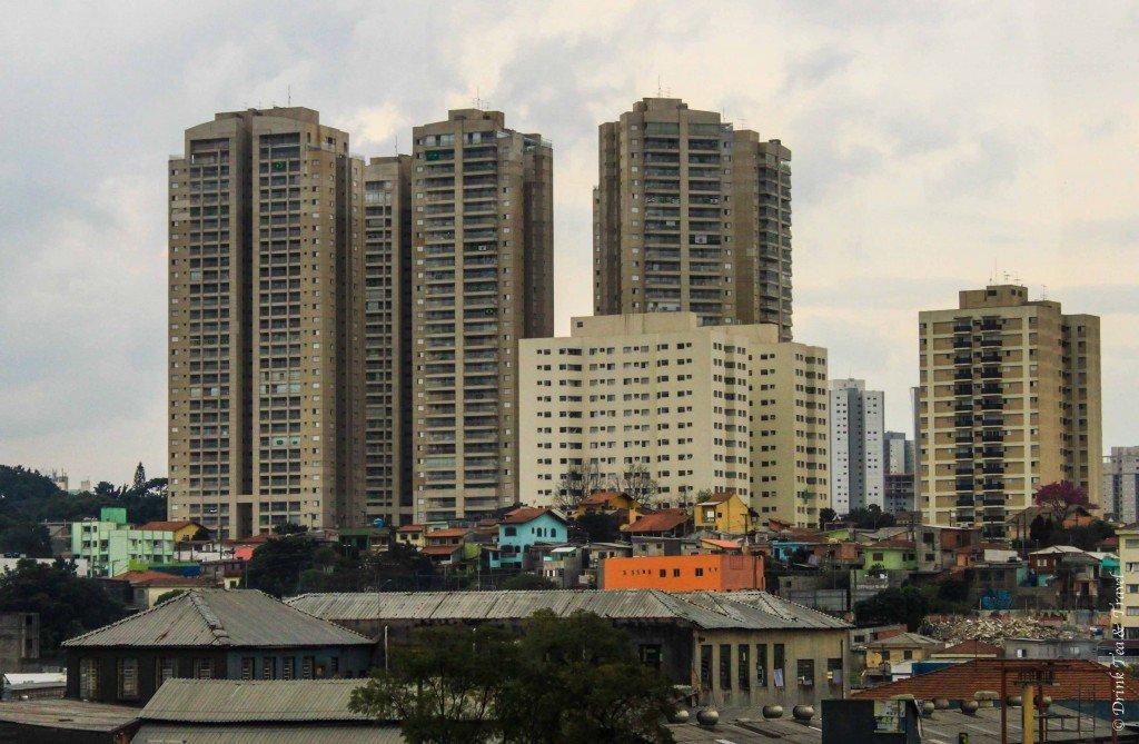 Concrete jungle of Brasilia, Brazil