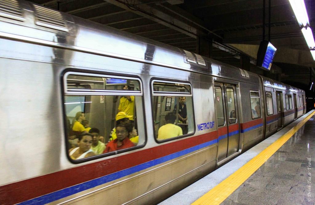 Metro in Brasilia, Brazil