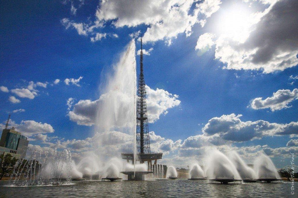 TV Tower in Brasilia, Brazil