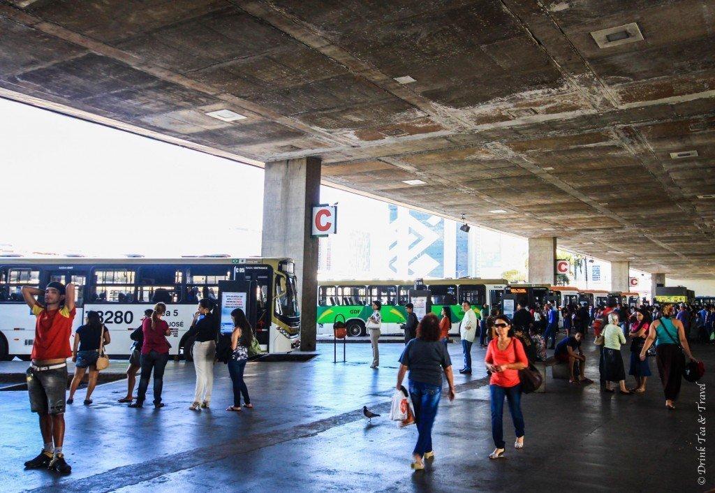 Central Station, Brasilia, Brazil