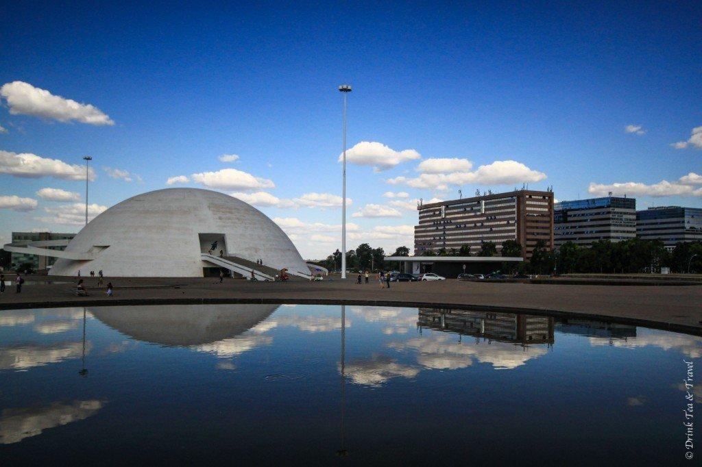 National Museum of the Republic in Brasilia, Brazil