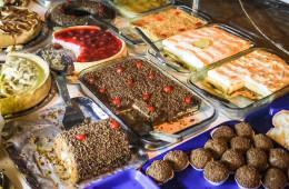 Dessert carts in Brazil