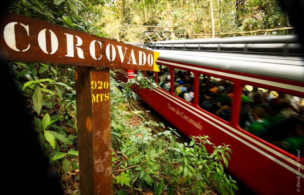 hike to Christ the Redeemer: Trem do Corcovado