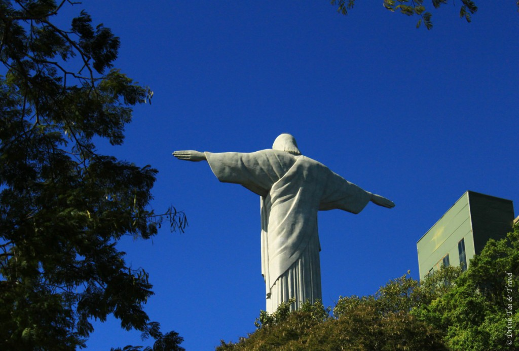 hike christ the redeemer: Christ the Redeemer, sitting on top of Corcovado Mountain