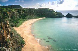 One of the many beautiful beaches on Fernando de Noronha