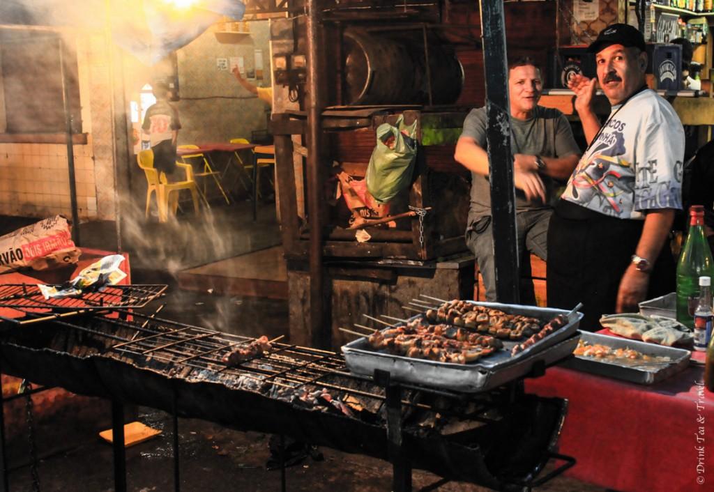 This churrasco is the cheapest dinner for Rocinha residents