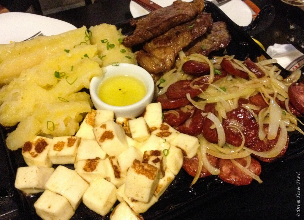 Brazilian dishes: Carne de Sol
