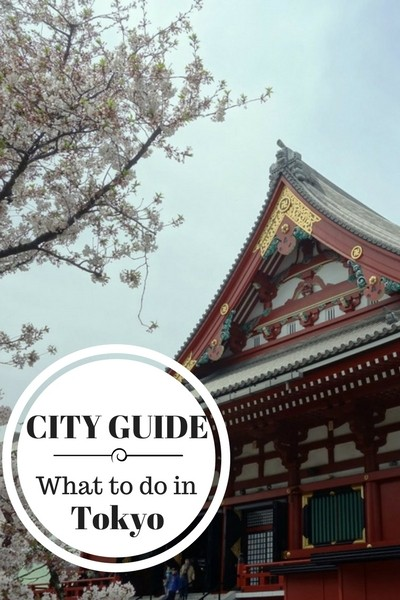CITY GUIDE-What to do in Tokyo Japan