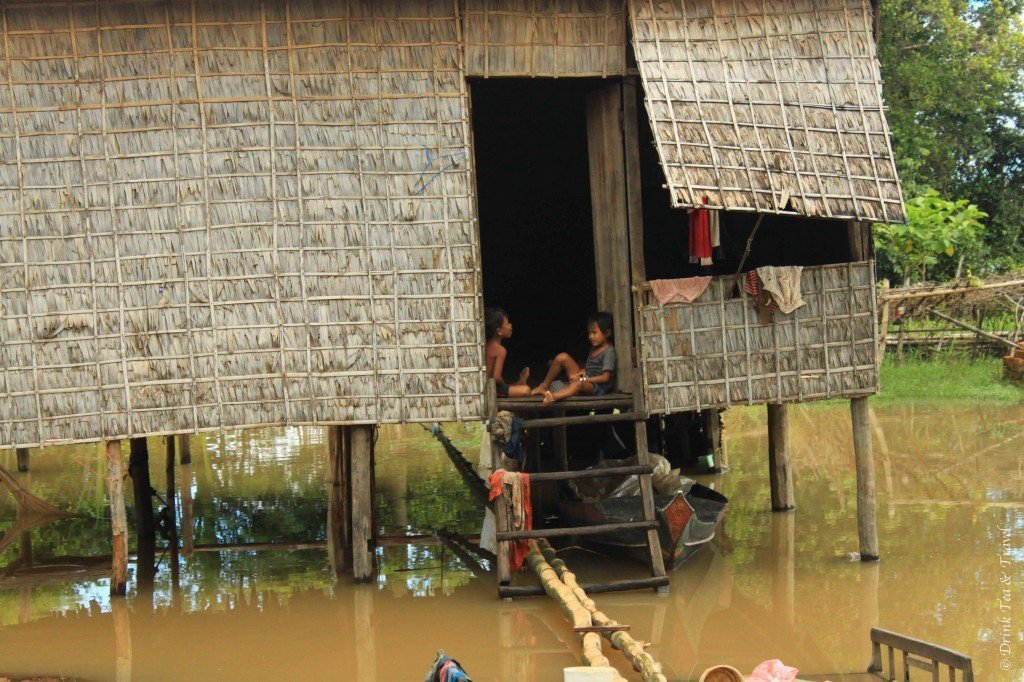 getting off the beaten track in Cambodia 3