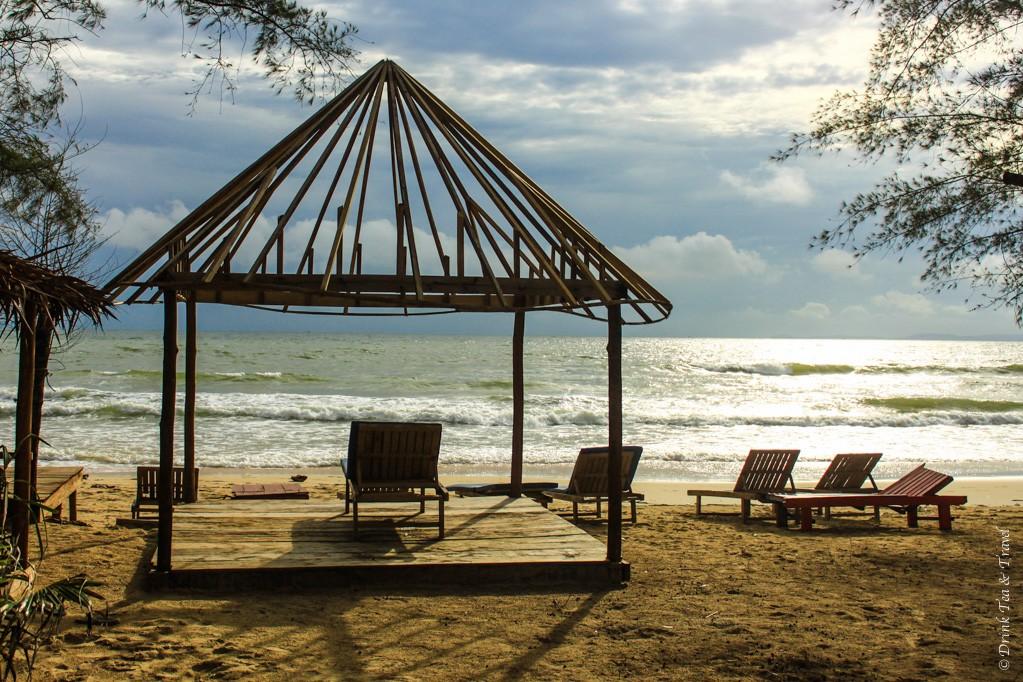 Beach in Sihanoukville, Cambodia, best beaches in cambodia