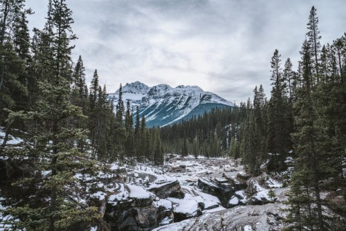 Mistaya Canyon, Canadian Icefields Parkway